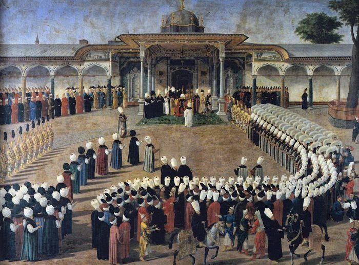segundo patio sultán selim